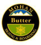 Mohan Butter Personal Achievement Award Pin.  Applies pressure to tip of skis, hop tails slightly while performing a smooth 180 spin.