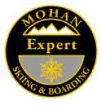 Mohan Expert Personal Achievement Award Pin.  Flows gracefully with smooth transitions between three short-, three medium- and three short medium-carved turns.