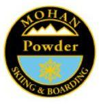 Mohan Powder Personal Achievement Award Pin.  Links seven or more medium radius fluid turns in over boot-top snow with moderately quick, consistent speed.
