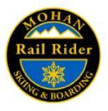 Mohan Rail Rider Personal Achievement Award Pin.  Links medium radius turns, getting the board on edge the last 1/3 of the turn on groomed blue slopes.