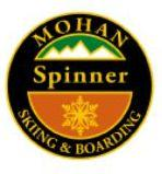 Mohan Spinner Personal Achievement Award Pin.  From fall line, makes two fluid 360 spins and exites down fall-line maintaining consistent forward speed.